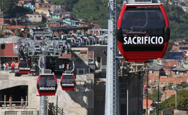 Sistema de Metrocable en Caracas | Foto: Referencial