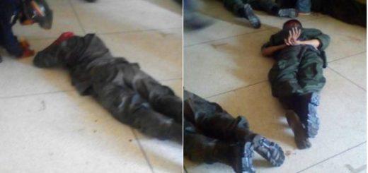 Militares detenidos por sublevación militar | Foto: Twitter