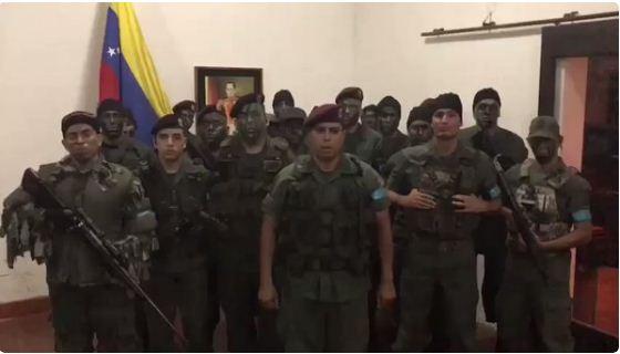 Militares de Valencia se rebelan ( Foto Captura)