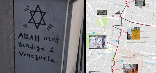 Símbolos en las calles de Caracas | Composición