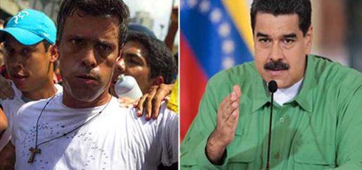 Maduro aseguró que la oposición planeaba asesinar a Leopoldo López | Composición: NotiTotal