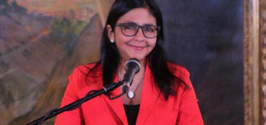 Delcy Rodríguez | Foto: Twitter