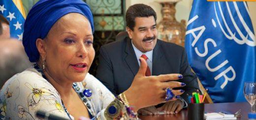 Nicolás Maduro y Piedad Córdoba |Foto cortesía