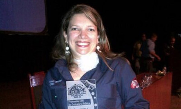Presidenta del Colegio de Contadores de Carabobo | Foto: Twitter