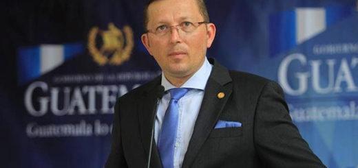 Heinz Heimann, presidente de Guatemala | Foto: Archivo