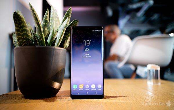 Samsung Note 8 |Foto cortesía