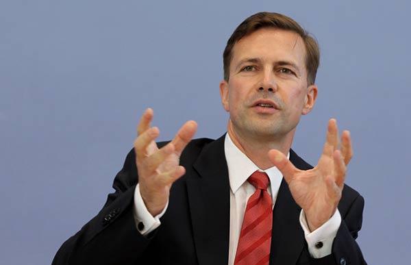 Steffen Seibert, portavoz de Alemania  Foto cortesía