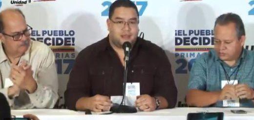 ¡Entérate! Estos son los candidatos unitarios por la MUD para las regionales | Foto: Captura de video