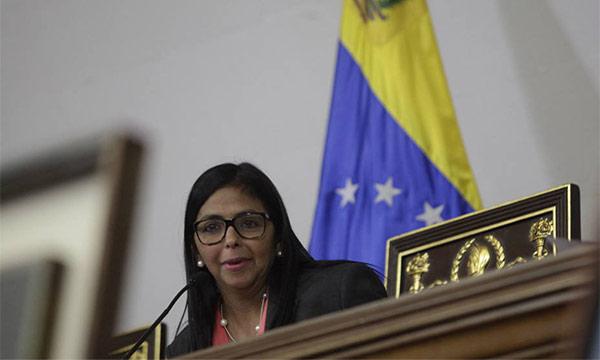 Delcy Rodríguez, Presidenta de la ANC | Foto: Cortesía