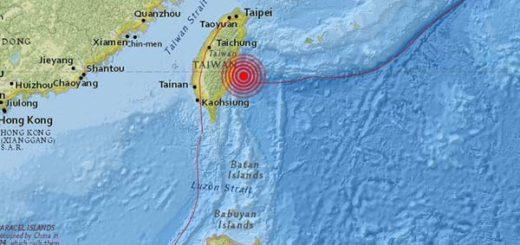 Sismo de magnitud 5,5 se registró al sur de Taiwán | Foto: Cortesía