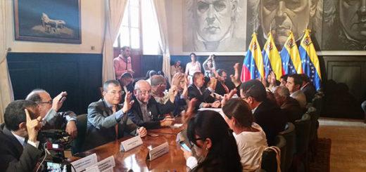 AN aprueba acuerdo en rechazo a la censura y cierre de medios de comunicación | Foto: @AsambleaVE