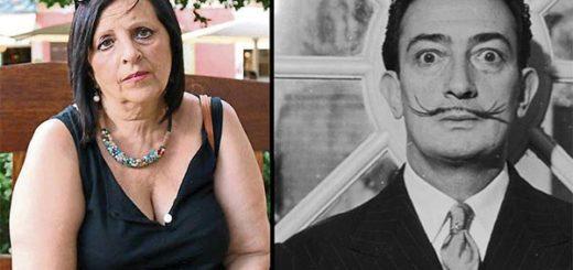 Abel Pilar presumía ser hija de Salvador Dalí |Composición: Notitotal