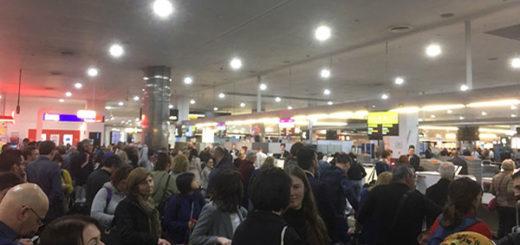 Fallo informático paralizó a varios aeropuertos del mundo | Foto: Vía @osamanasir