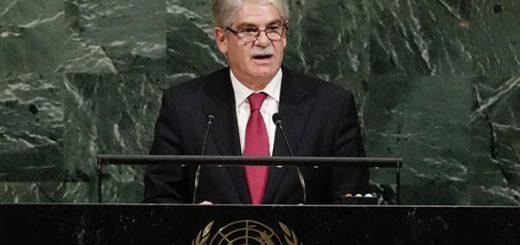 El ministro de Asuntos Exteriores, Alfonso Dastis | EFE