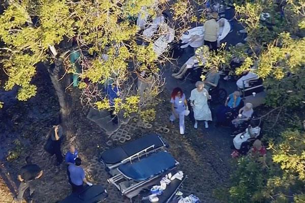 Cinco personas mueren en un asilo de Florida tras el paso de Irma   Foto: Univisión