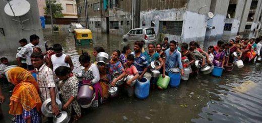 Inundaciones en Asia |Foto: Cortesía