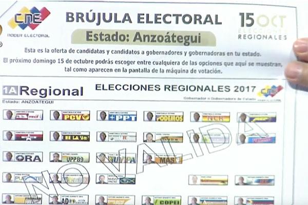 El rector Luis Emilio Rondón explicó proceso de sustitución de candidatos   Foto: Globovisión