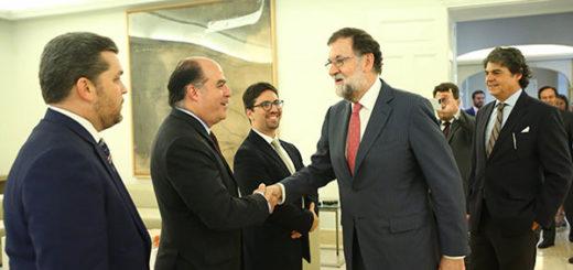 Visita de diputados opositores tensa más la relación de Venezuela y Europa | Foto: @marianorajoy
