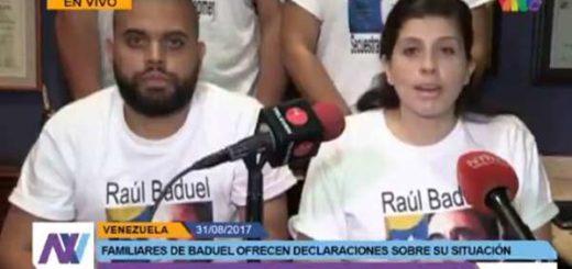 Hijos del General Raúl Isaías Baduel |Captura de video