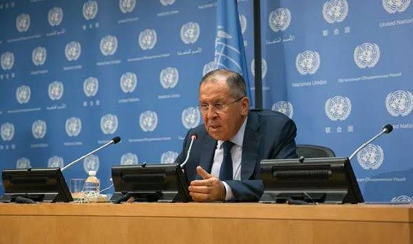 Canciller de Rusia  Foto: AFP