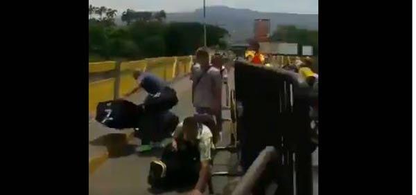Situación irregular en la frontera  Captura de video