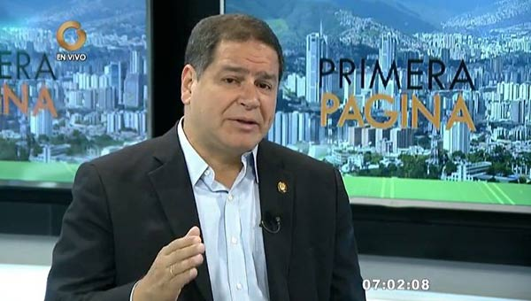 Diputado Luis Florido  Captura de video