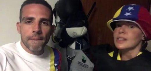Luis Olavarrieta y Josemith Bermúdez  Captura de video