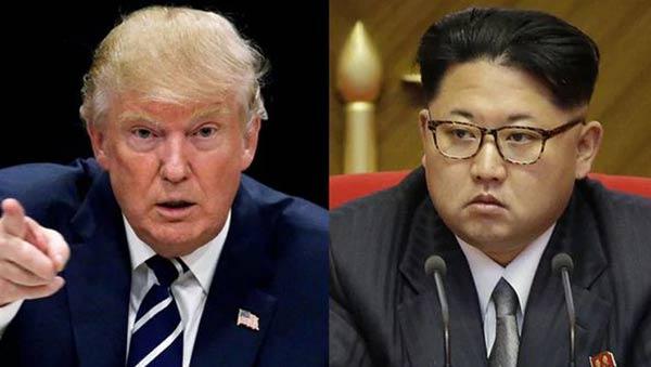El presidente estadounidense Donald Trump y el dictador norcoreano Kim Jong-un |Foto cortesía