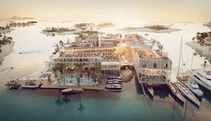 Esta recreación de Venecia espera ser finalizada para el 2020 |Foto: Infobae