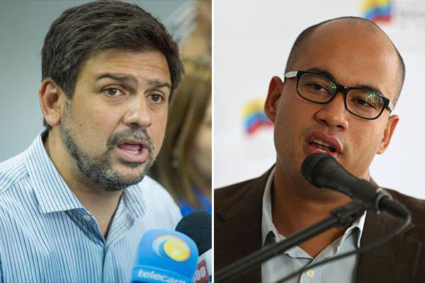 Carlos Ocariz supera ampliamente a Héctor Rodríguez en encuesta por la gobernación del estado Miranda | Composición