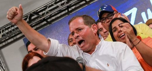 Juan Pablo Guanipa, candidato por la MUD para la gobernación de Zulia | Foto: Twitter