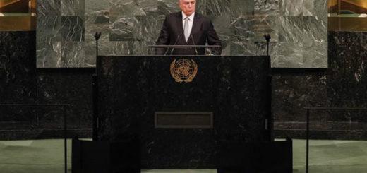 Michel Temer durante Asamblea General de la ONU | Foto: Twitter