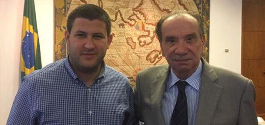David Smolansky fue recibido por el canciller brasileño Aloysio Nunes | @dsmolansky