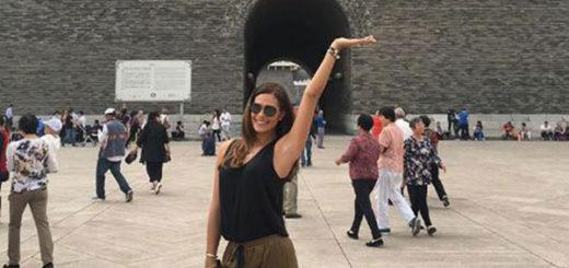 Las mini vacaciones de Debora Menicucci en China junto a Maikel Moreno   Foto: Instagran