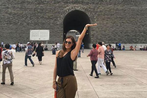 Las mini vacaciones de Debora Menicucci en China junto a Maikel Moreno | Foto: Instagran