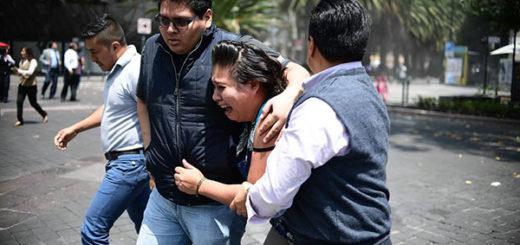Decretan tres días de luto en honor a las víctimas del terremoto en México   Foto: Getty Images