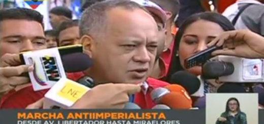 Diosdado Cabello denuncia que hay un gran asedio contra el pueblo venezolano | Captura de video