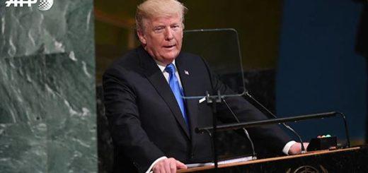 Donald Trump en la ONU |Foto: AFP