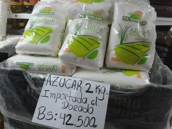 Nuevo precio de la azúcar importada | Foto cortesía