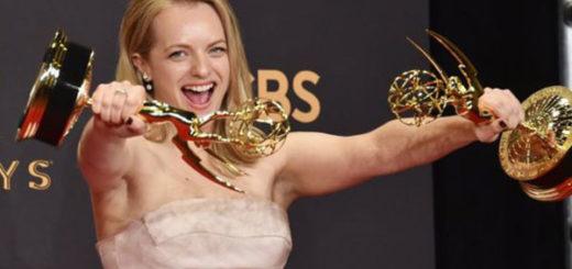 La actriz Elisabeth Moss consiguió al fin su ansiado Emmy | Foto: Getty Images