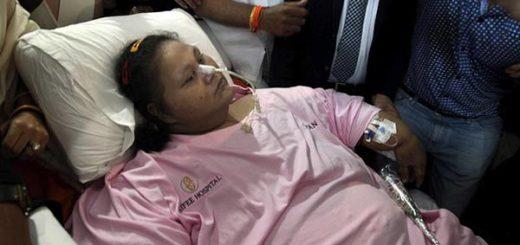 Falleció la egipcia Eman Ahmed Abd El Aty |Foto: EFE