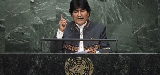 Evo Morales repitió polémica frase de Chávez en su intervención en la ONU | Foto: EFE
