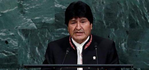 Evo Morales en la ONU | Foto: EFE