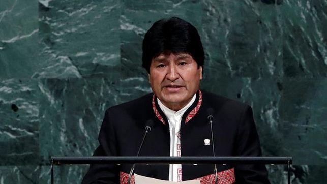 Evo Morales en la ONU   Foto: EFE