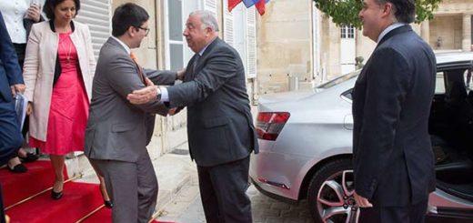 Julio Borges y Freddy Guevara en Francia |Foto: @Senat