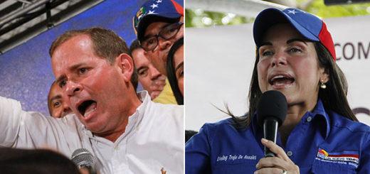 Guanipa y Trejo se proclamaron ganadores en el Zulia antes de boletín de la MUD | Composición: NotiTotal