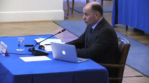 Mayor General Hebert García Plaza en la OEA | Foto: La Patilla
