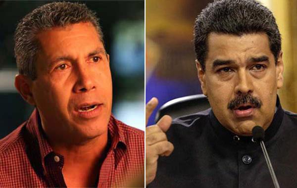 Foto: Henri Falcon y Nicolas Maduro