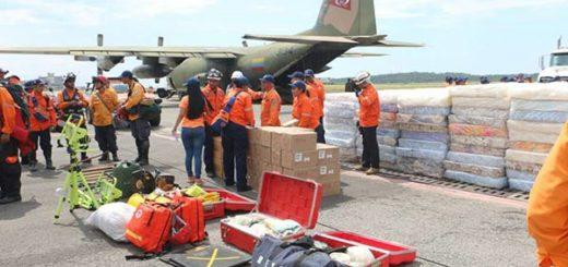 Parte de los insumos enviado al Caribe |Foto: Protección Civil