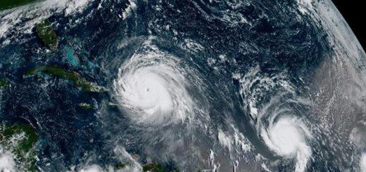 Huracán José acompaña a Irma en su trayecto por el Caribe, además Katia viene tras de ellos |Foto: Reuters